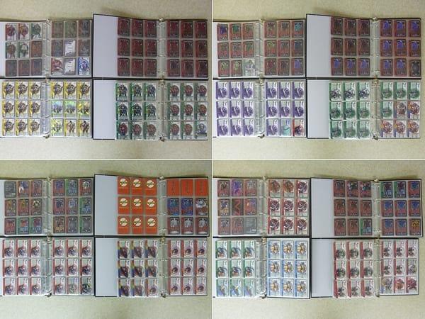 仮面ライダー 電王 カードダス カード 大量 + バインダー 4冊_3