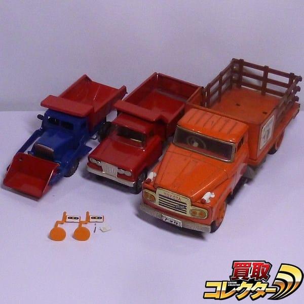 ブリキのおもちゃ トラック トヨタ 他 フリクション / 日本製