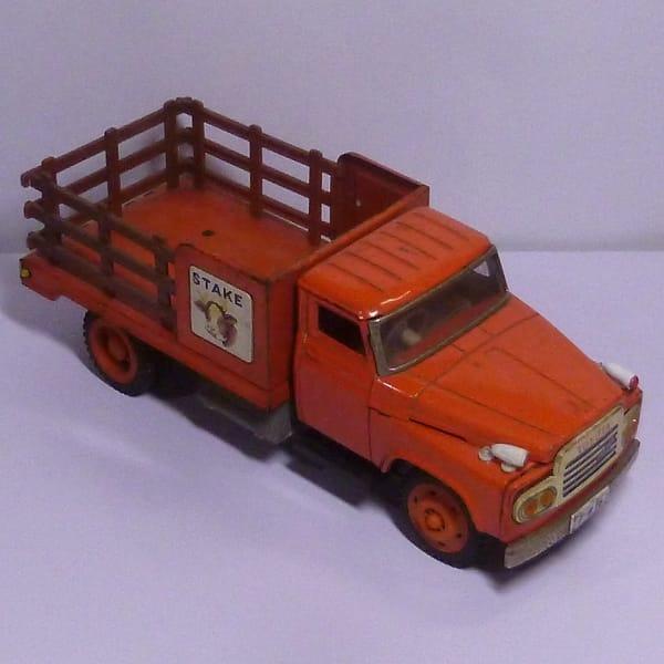 ブリキのおもちゃ トラック トヨタ 他 フリクション / 日本製_2