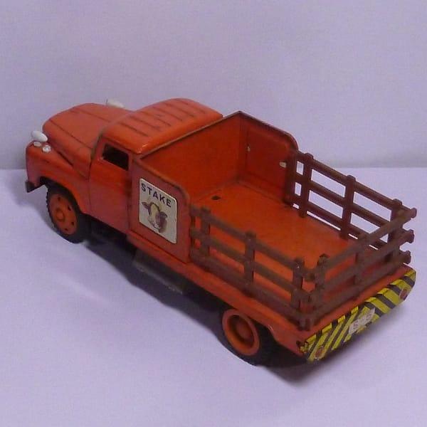 ブリキのおもちゃ トラック トヨタ 他 フリクション / 日本製_3