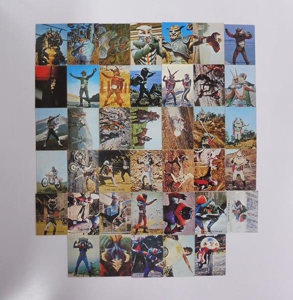 カルビー 当時物 旧 仮面ライダー カード 173-226 40枚_1