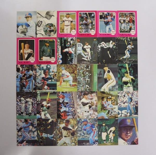 カルビー プロ野球 カード 1976年 激戦!快進撃他 30枚_1