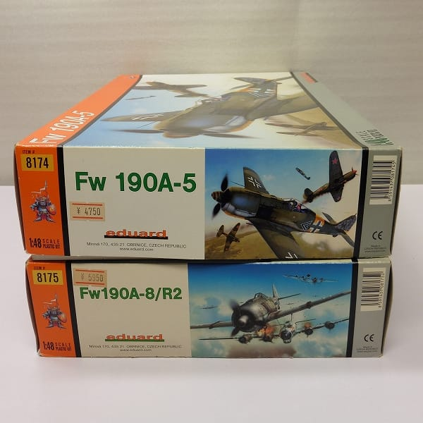 エデュアルド 1/48 フォッケウルフ Fw190A-5 FwA-8/R2_2