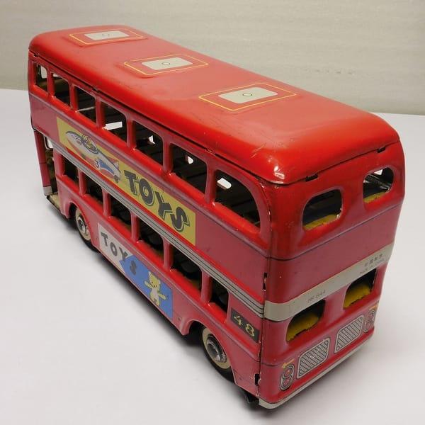 ブリキ フリクションカー バス タンクローリー オイルタンカー_3