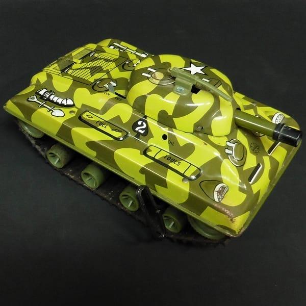 マルクストーイ MARX TOYS ブリキ 戦車 ゼンマイ アメリカ製_2