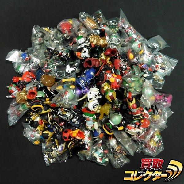 仮面ライダー ウルトラマン 指人形 ティガ ブレイド V3 他_1