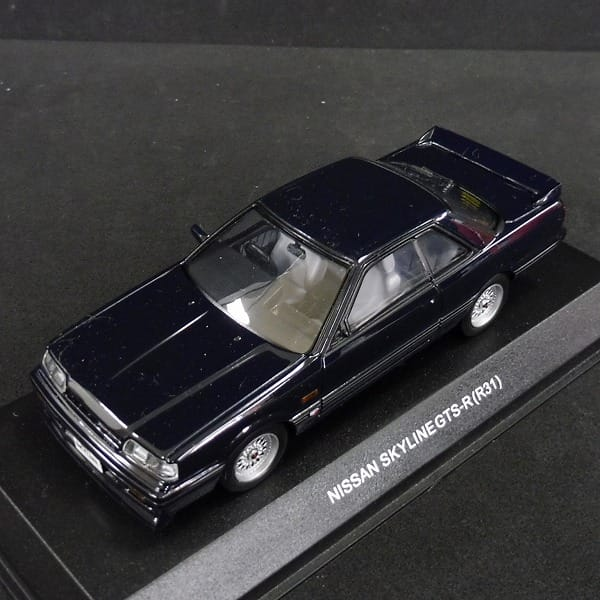 京商 1/43 日産 スカイライン GTS-R(R31) ダークブルー 03707DB_2