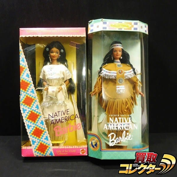 Barbie NATIVE AMERICAN 1753 18558 Dolls of World Collection