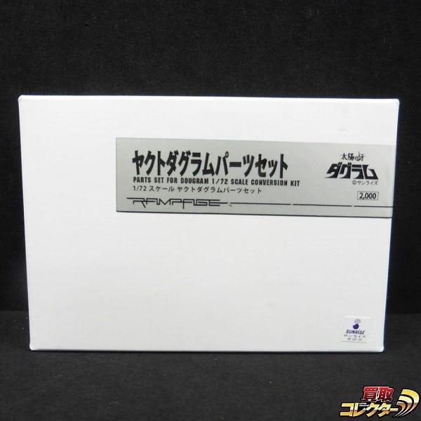 ランペイジ RAMPAGE 1/72 ヤクトダグラム パーツセット