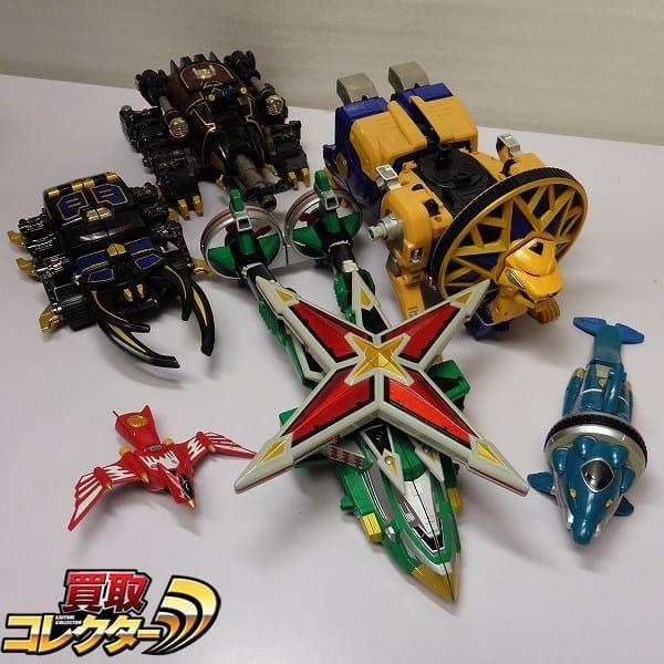DX超合金 旋風神 轟雷神 天空神 / ハリケンジャー 戦隊ロボ