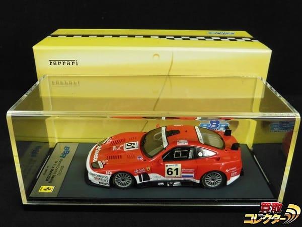 BBR 1/43 フェラーリ 575 GTC ル・マン 24h 2004 #61 / ミニカー