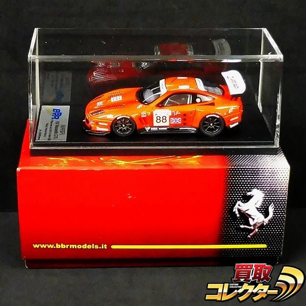 BBR 1/43 フェラーリ550 マラネロ GTS レッド ル・マン2003 #88