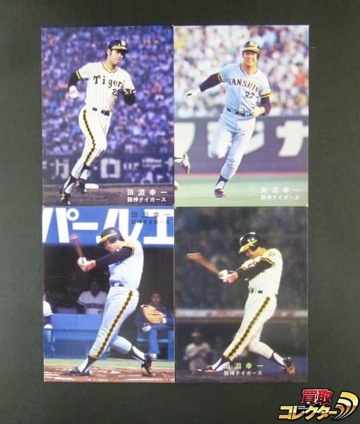 カルビー プロ野球 カード 1978年 田淵幸一 阪神タイガース