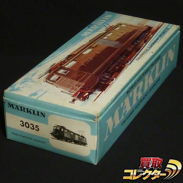 メルクリン HOゲージ 3035 イタリア鉄道 電気機関車 3線式