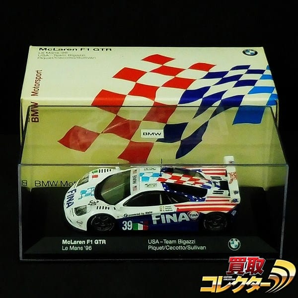 BMW別注 ミニチャンプス 1/43 マクラーレン F1 GTR ル・マン '96