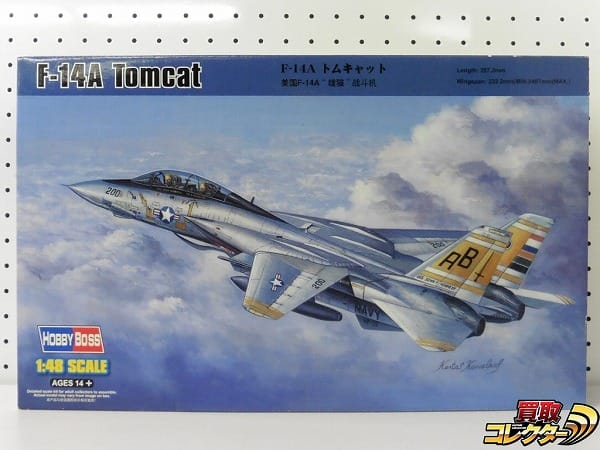 ホビーボス 1/48 F-14A トムキャット /アメリカ TOMCAT