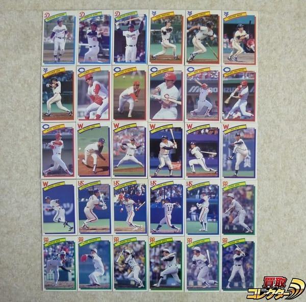 ロッテ ベースボールカード 1990 No.A67~120 30種 中日 広島