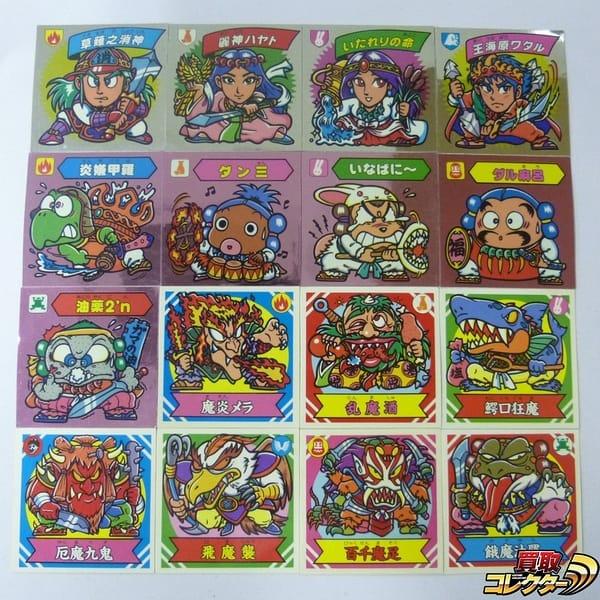 謎のジパング伝説  マイナーシール 16枚 草薙之消神 麗神ハヤト
