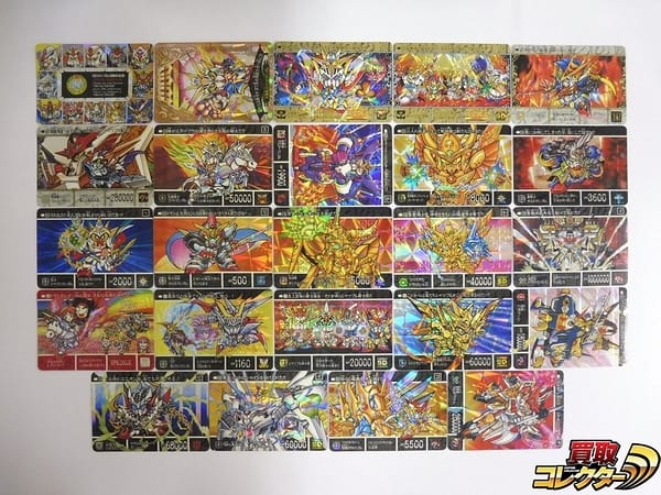 SDガンダム 外伝 カードダス 黄金神話 鎧闘神戦 両面キラ 10周年