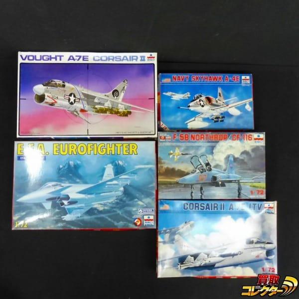エッシー 1/72 EFA ユーロファイター Navy Skyhawk A-4E 他