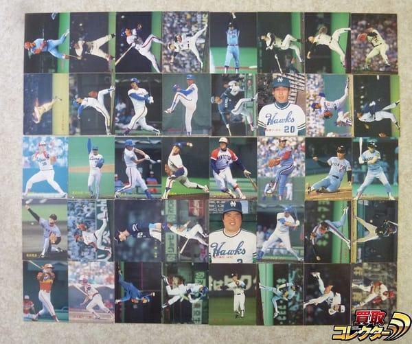 カルビー プロ野球 ベースボール カード 88年 No.119~228 40枚