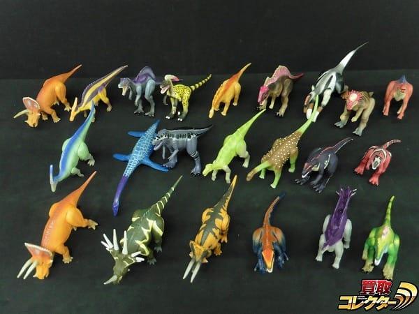 恐竜 ソフビ フィギュア トリケラトプス ステゴサウルス 他