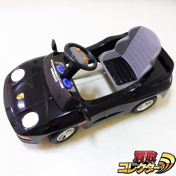 野中製作所 ペダルカー ポルシェ982 ブラック / 足こぎ車