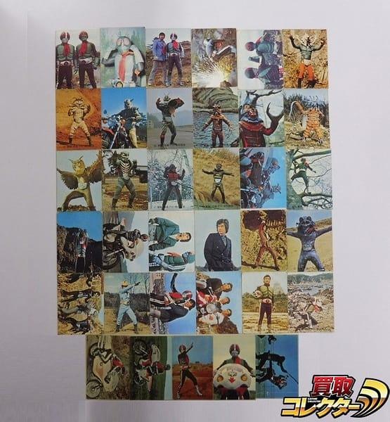 カルビー 当時物 旧 仮面ライダー カード 101-142 35枚 2号