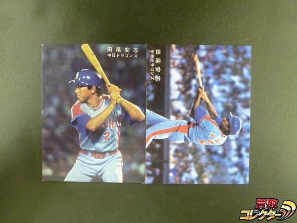 カルビー プロ野球 カード 1978年 田尾安志 中日ドラゴンズ