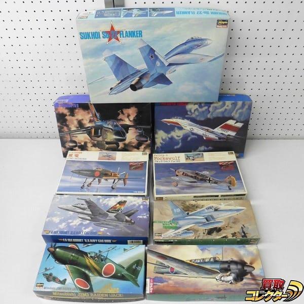 1/72 軍用機 プラモ Su-27 フランカー 彩雲改 他 / ハセガワ