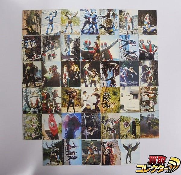 カルビー 旧 仮面ライダー カード 230-275 40枚 セミコンプ