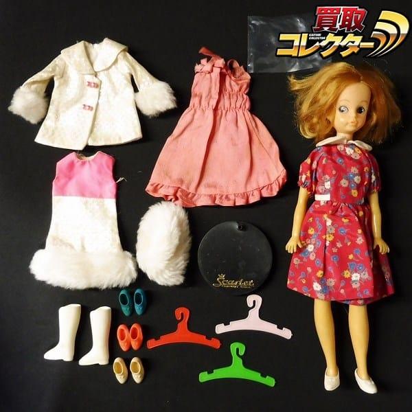 中嶋製作所 スカーレットちゃん 人形 ドール 洋服 くつ