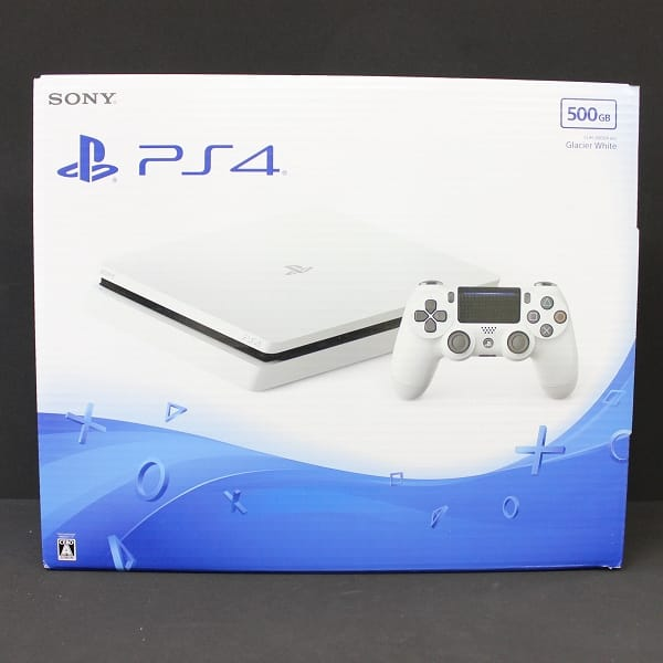 PS4 PlayStation4 本体 500GB CUH-2000A B02 ホワイト