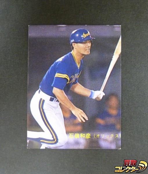 カルビー プロ野球カード 89年 No.390 石嶺和彦 オリックス