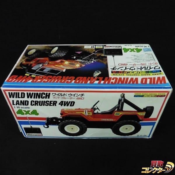 ニッコー 1/16 ワイルドウインチ ランドクルーザー 4WD RC