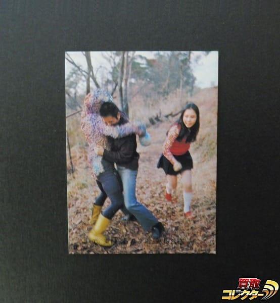 カルビー 当時物 旧 仮面ライダー カード No.506 KR21 本郷