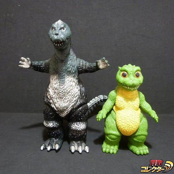 バンダイ 日本製 ソフビ 1983 ゴジラ 1994 リトルゴジラ / 怪獣