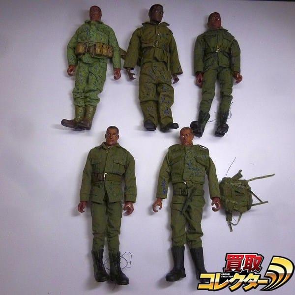 ハズブロ G.I.ジョー 黒人 5体 アメリカ海兵隊 他
