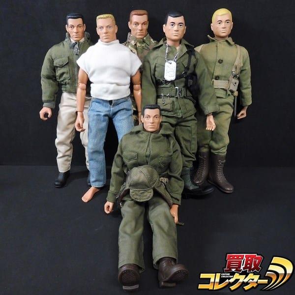 ハズブロ G.I.ジョー 白人6体 アメリカ海兵隊 ジーンズ 他