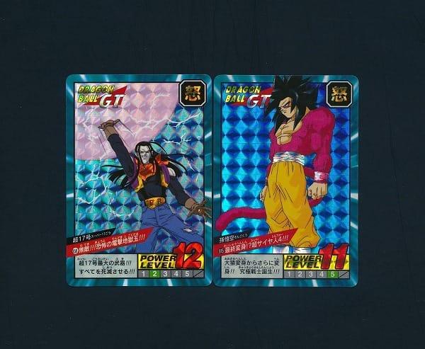 ドラゴンボール GT カードダス スーパーバトル キラ 6枚 超17号_3