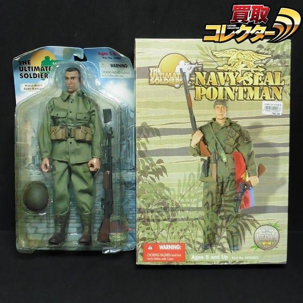 21st Century Toys ネイビーシールポイントマン WW2 レンジャー