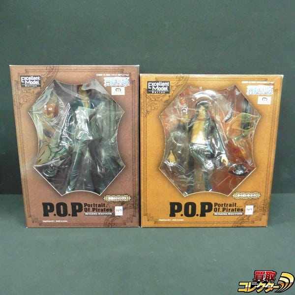 P.O.P ONE PIECE STRONG EDITION シャンクス エース 2種