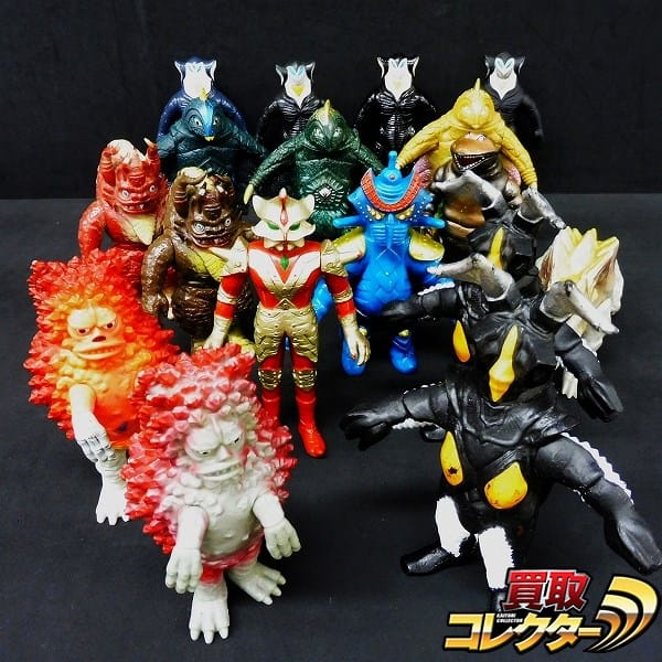ウルトラ怪獣 日本製 ソフビ 大量 ガラモン ゼットン ミクラス他