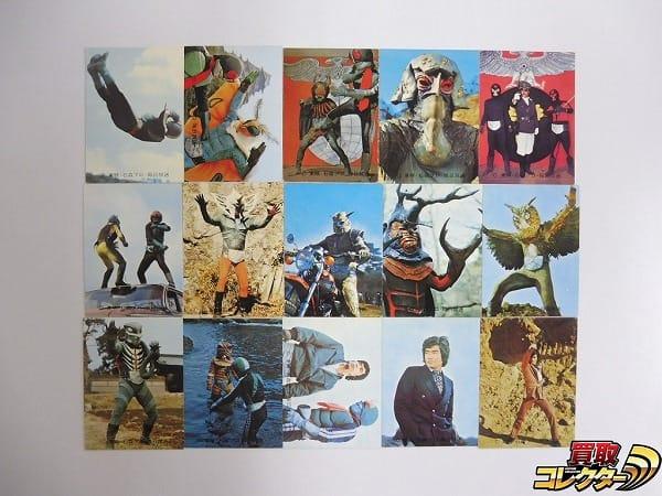 カルビー 当時物 旧 仮面ライダー カード 46-124 15枚 2号