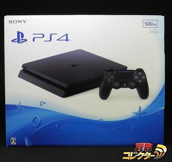 SONY PS4 本体 500GB ジェットブラック CUH-2000A B01