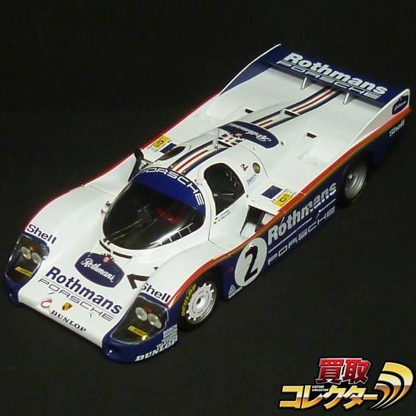 ミニチャンプス 1/18 Porsche ポルシェ956 ロスマンズ #2