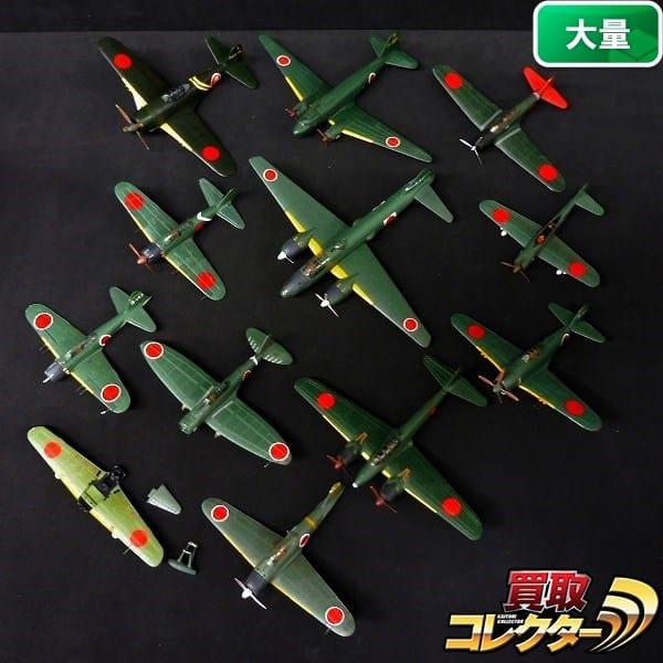 戦闘機模型 零戦 紫電改 一式陸攻 他 / 日本軍 軍用機