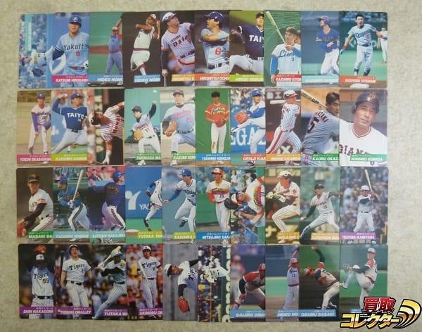 カルビー 当時 プロ野球 カード 92年 No.12~No.177 40枚 まとめ