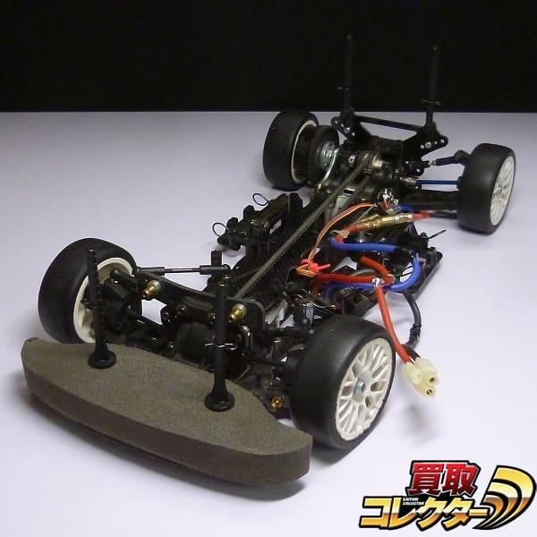 タミヤ TA04 カーボンシャーシ + ヨコモ V12XC + PRO STOCK II