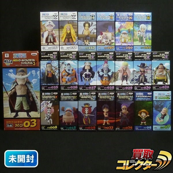 ONE PIECE ワーコレ色々 MEGA vol.0 白ひげ vol.14エース他